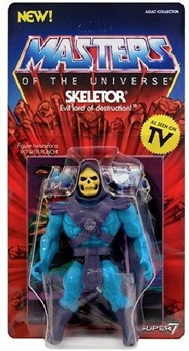 SKELETOR Neo Vintage Collection SUPER7 NEW WAVE MOTU CLASSICS Masters Universe