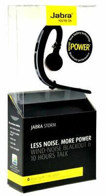 New Jabra Storm Bluetooth Headset HD Voice NFC Wind Noise Reduction UK STOCK