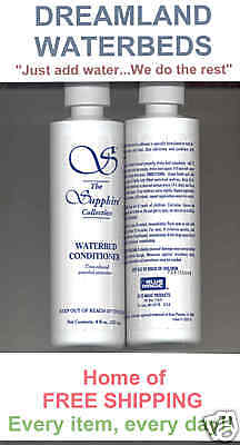2 BLUE MAGIC 8 oz. Waterbed Conditioner-Buy 2 Sets Get 2 Sets FREE