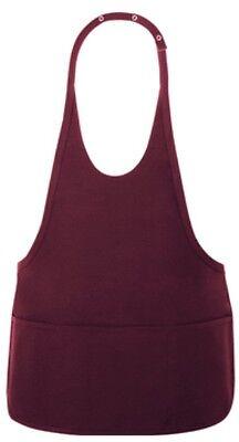 Fame Fabrics Adjustable Light Pink 3 Pocket Bib Apron 81743 F10 Top Quality!