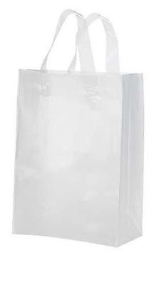 Clear Bags Plastic 25 Retail Merchandise Shopping Frosted Frosty 8 X 5 X 10