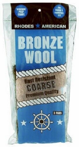 Homax, 3 Pack, Bronze, Coarse, Wool Pad, Mariner