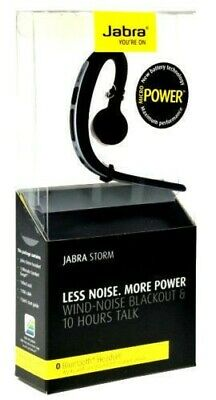 Brand New Jabra Storm Bluetooth Headset HD Voice Wind Noise Reduction UK STOCK