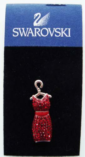 Tiffany Heart Bracelet >> Swarovski Red Dress Pin | eBay
