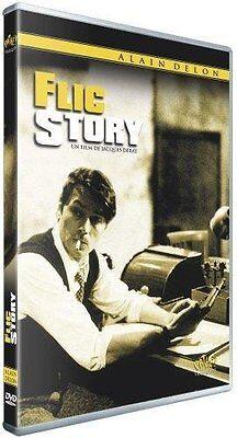 """ALAIN DELON  """" FLIC STORY       """"  DVD NEUF"""