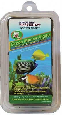 Ocean Nutrition Green Seaweed/grüne marine Algen mit Knoblauch - 30 Gramm
