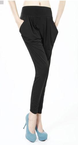 Womens Pants Harem Trousers Ebay