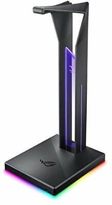 ASUS ROG Throne Qi Gaming Headset Stand - Wireless Charging | 2 USB Ports & A...