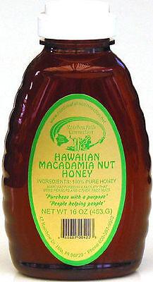 HAWAIIAN MACADAMIA HONEY ~ 100% PURE ~ 1 (Hawaiian Macadamia)