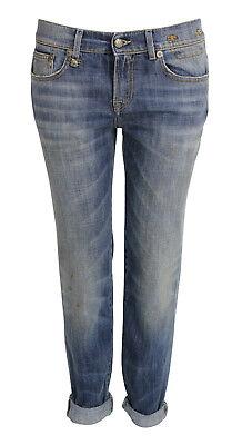 45101 NEU R13 Boy Skinny Jeans Modell R13WM008668 schwarz coated GR 28