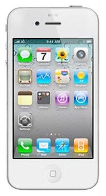 NEW APPLE iPHONE 4S 16GB FACTORY UNLOCKED WHITE SMARTPHONE