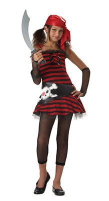 Pirate Cutie Trendy Tween Halloween Costume