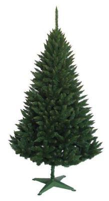 7ft Künstlicher Weihnachtsbaum Stechfichte 220cm Christbaum Fichte Kunstbaum ()