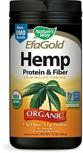 Hemp Protein & Fiber 454 gms By Nature's Way