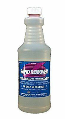Rapid Remover Adhesive For Vinyl Wraps Graphics Decals Stripes 32oz Sprayer