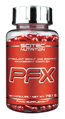 120 Kapseln Fett (Scitec PFX Körperfett-Kontrolle Komplex - 120 Kapseln Grüntee)