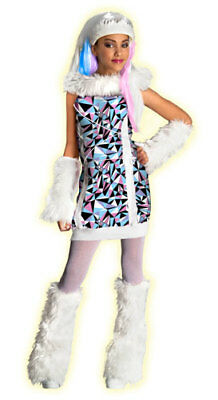 Abbey Bominable Costume (Monster High Abbey Bominable Girls Hallowen)