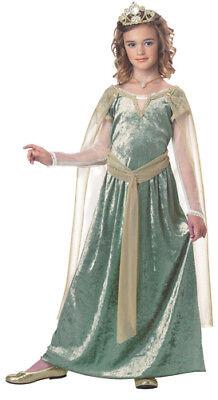 Queen Guinevere Costume (Girls Queen Guinevere Medieval Halloween)