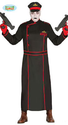 Gothic Soldat Kostüm Uniform Halloween Männerkostüm ()