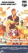 The Man with The Golden Gun VHS