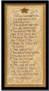 Ten Commandments Sign