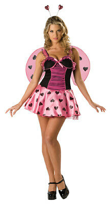 Lovebug Costume (Lucious Love Bug Womens Halloween)