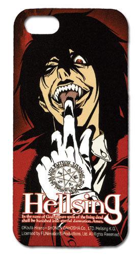 Hellsing Alucard w/ White Gloves Iphone 5 Cell Phone Case Anime MINT