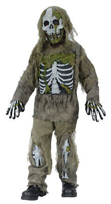 Skeleton Zombie Child Halloween Costume