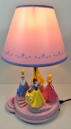 Disney Princess Lamp Ebay