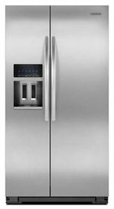 kitchenaid refrigerator white. kitchenaid side by refrigerators kitchenaid refrigerator white l