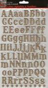 Glitter Alphabet