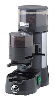 La Pavoni Jolly Jdl Chrome Italian Espresso Coffee Beans Grinder 50mm Burrs 220v