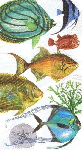 Fish Napkins Ebay