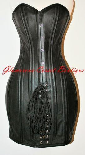 Steel Boned Corset Dress Ebay