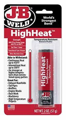 J-B Weld 8297 HighHeat 500 Degree Epoxy Putty Stick - 2 oz.