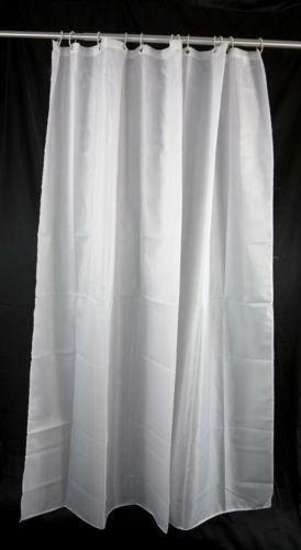 weighted shower curtain ebay. Black Bedroom Furniture Sets. Home Design Ideas