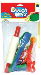 Colorific - Dough Worx Shape Maker Set - NEW Greenwood Joondalup Area Preview
