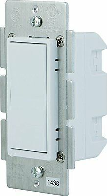 Ge Z-wave In-wall Smart Switch - Light Control - White In-wa