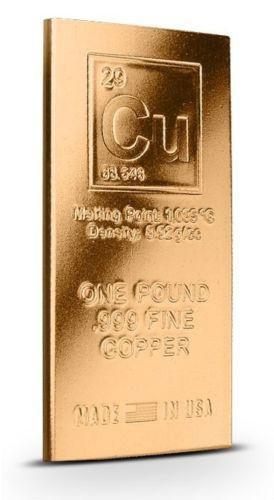 Copper Bullion Ebay