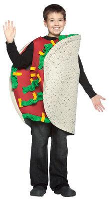 Taco Kids Medium Sized Halloween Costume - Kids Taco Costume