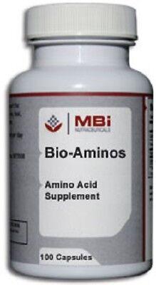 - MBi Nutraceuticals Bio-Aminos 100 Capsules
