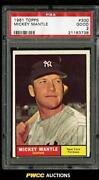 Mickey Mantle PSA 2