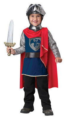 Toddler Gallant Knight Halloween Costume Size Medium 3T-4T (Toddler Knight Costume)