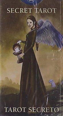 Secret Tarot MINI Deck Cards Wiccan Pagan Metaphysical
