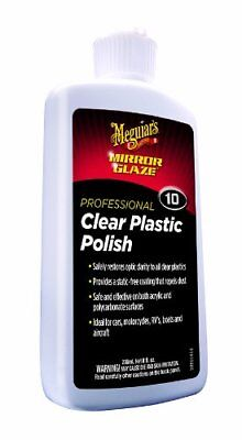 Meguiars M1008 Clear Plastic Polish - 8 Oz.