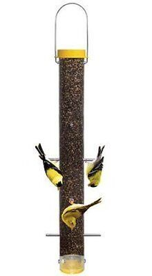 "DROLL YANKEES BOTTOMS UP FINCH FEEDER 23"" BUF-23 FINCH BIRD FEEDER"
