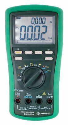 Greenlee Dm-820a Multimeter