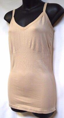 TS Shapewear TAKING SHAPE plus sz XS / 14 seam-free Singlet comfy smoothing NWT!