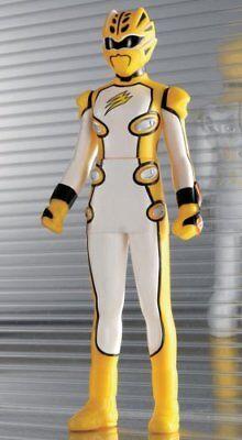 Power Rangers Jungle Fury Jungle Master Yellow Geki Ranger 6