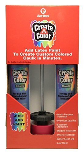 Red Devil Inc 4074 Create a Color Caulk Kit FAST Free Shipping New